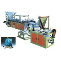 Cheap 5kw 10kw Ribbon Through Polythene Bag Making Machine / Equipment 35pcs/Min for sale