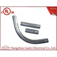 Best 3/4 90 Degree Elbow IMC Conduit Fittings Electro Galvanized Both End Threaded wholesale