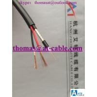Best RG-59 Siamese Coax cable 0.5BC for CCTV Security systems.(PVC Round Cover) wholesale