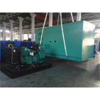 Industrial Cummins Power General Diesel Generator 20kw - 50kw With Fuel Tank