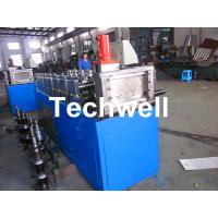 Best Steel Stud and Track Cold Roll Forming Machine for Light Weight Steel Truss / Furring Channel wholesale