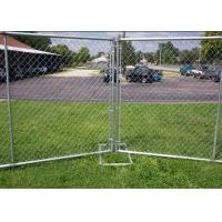 Best Galvanized Portable Australian Temporary Fencing , Chain Link Fence Panels wholesale