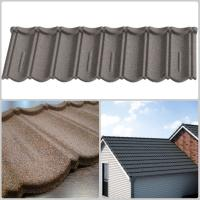 Best Light weight Colored Stone Coated Roof Tiles with Soncap Certificate wholesale