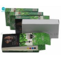 Best Tobacco Green Packet Cardboard Cigarette Cases And Shisha Outer Boxes wholesale