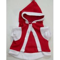 Cotton & Polyester Pet Poodles , Teddy christmas clothes , xmas clothes for dogs