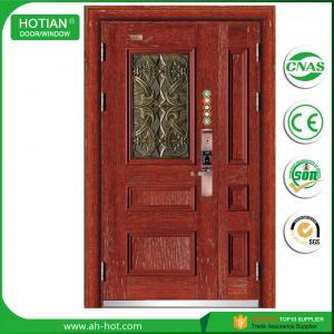 Best High quality Metal Steel Front Exterior Security Door For Mom and Son Door Designs wholesale