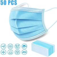 China Earloop Disposable Face Mask / Anti Dust Face Mask Surgical Disposable 3 Ply on sale