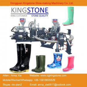 Best Kingstone Machinery Manufacturer Rotary Gumboots Rain Boot Making Machine wholesale