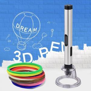 Cheap New kids magic pen 3D Printer Pen with abs pla pcl 1.75mm filaments for sale