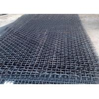 Best Spring Wire 65Mn Quarry Screen Mesh For Vibrating Screen Equipment 1800MM Length wholesale