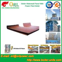 China CFB 110 MW Boiler Water Wall Panels For High Temperature Solid Fuel Boiler on sale