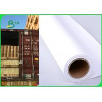 Best 36 Inch × 150m 80gsm Plotter Paper Roll For Canon Printer Good Print Performance wholesale