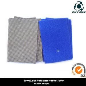 Electroplated Diamond Hand Polishing Pads/Sand Paper