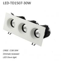 Best 30W interior IP42 dimmable COB LED down light for home decoration wholesale