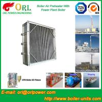 Best High Temperature Solid Fuel Boiler Steam Air Preheater In Cement Plant wholesale