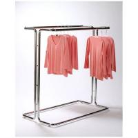 Cheap Fashionable Metal Single Bar Garment Display Stand Clothes Hanging Rack For Hanging Items for sale