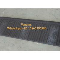 Cheap CE Terracotta Roof Tiles size 1340*420mm / Shigle Tile Red and Black Color all for sale