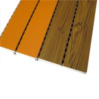 China Sound Proofing Wood Laminated Board Decorative Interior Wall Panels on sale