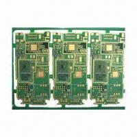 China FR-4 Double-sided PCB with 1.6mm Board Finished Thickness and HASL Lead-free Surface Treatment on sale