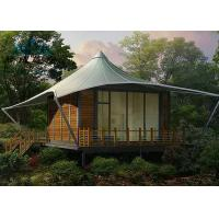 Best PVC Fabric Cover Hotel Bell Tent Easy Maintenance For Traval Living Room wholesale