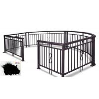Best SGS Garden Fence All Coat Powder Coating Good Delay Impact Performance wholesale