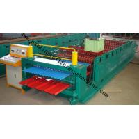 Best Corrugated Double Layer Roll Forming Machine , Wave Galvanized Roof Sheet Cold Roll Former wholesale