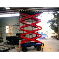 Best 6 meters hydraulic lifting equipment with motorized device , 500Kg loading wholesale