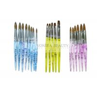Best Super Collection Of  Kolinsky Sable Acrylic Nail Brush For Carving And Painting wholesale