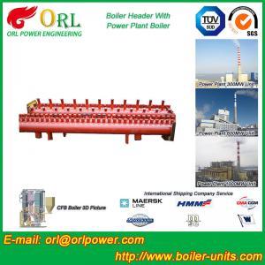 Best Solar Boiler Hydraulic Header Manifold / Manifold Header High Heating Efficiency wholesale