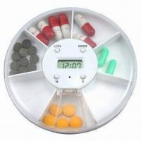 Best Medicine Pillbox Timer, 7 Compartments with Time and Alarm wholesale