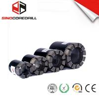 Best Geological Diamond Core Drill Bit , Diamond Impregnated Bits With High Speed wholesale