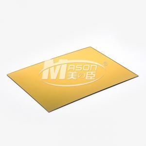 Best Golden SilverSingle SidePerspex Mirror Cut To Size MirrorAcrylicSheet 1220X2440mm wholesale