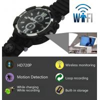 Best Y33 8GB 720P WIFI IP Spy Watch Camera Home Security Smart Remote CCTV Video Monitor IR Night Vision Nanny Baby Monitor wholesale