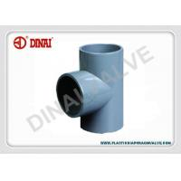 """Quality CORZAN CPVC Pipe and Fitting Equal Tee PN16 Bar 1-1/2""""(D50mm) ~ 10""""(D280mm) wholesale"""