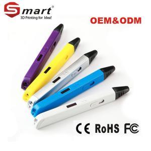 China Manufacturer OEM ODM 3D printer doodle pen Photopolymer use PLA ABS filament on sale