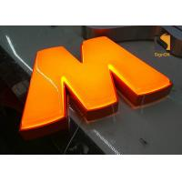 Best Custom Formed Lighted LED Plastic Sign Letters With Metal Returns wholesale