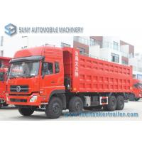 Buy cheap 40 Ton 50 Ton 60 Ton Dongfeng 8*4 Rubbish Collection Truck 4 Axles 340 Hp from wholesalers