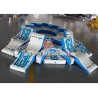 Best Commercial Grade Inflatable Island Float For 9 Person Water Tube Lounge Raft wholesale
