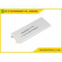 Best LP042255 Rechargeable Lithium Polymer Battery 3.7V wholesale
