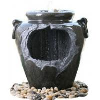Best Chinese Style Jar Asian Garden Fountains , Outdoor Cascading Water Fountains 18 wholesale