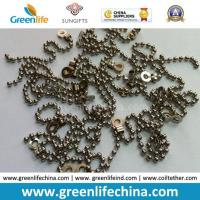 Best Decorative 2.0mm Metal /Stainless Steel Bead Ball Badge Chain wholesale