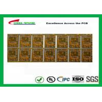 Best Yellow Multilayer PCB 4 Layer Bluetooth Printed Circuit Board With BGA And Half Holes wholesale