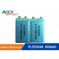 Best 553048 pl553048 3.7v 800mah lithium polymer rechargeable battery for portable pinter wholesale