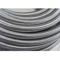 Best Outer Stainless Steel Braided Compressed Air Hose Pure Rubber Tube Inside wholesale