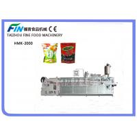 China Automatic Doy Bag Roll Film Forming Filling and Packing Machine (HMK-2000C) on sale