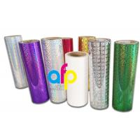 Best Holographic Thermal Lamination Film Laser Holographic Film for Gift Wrapping wholesale