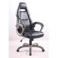 Best Black PU Porsche Racing Office Chair with Painting Armrest Executive Leather Office Chair wholesale