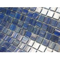 Quality Blue mixed swimming pool tile for sale wholesale