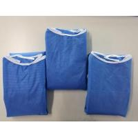 Quality Fluid Resistance Comfortable Blue Surgical Gowns Long Sleeve wholesale