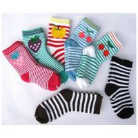 Best Sweat-absorbent Cute Colorful 12 - 15 cm Pure Cotton Ankle Terry Loop Socks For Children 1- 4 Years wholesale